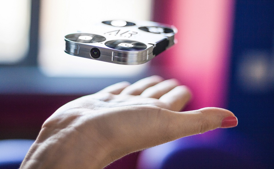 AirSelfieforBW Portable, Pocket-Size Drone Targets Selfie Enthusiasts