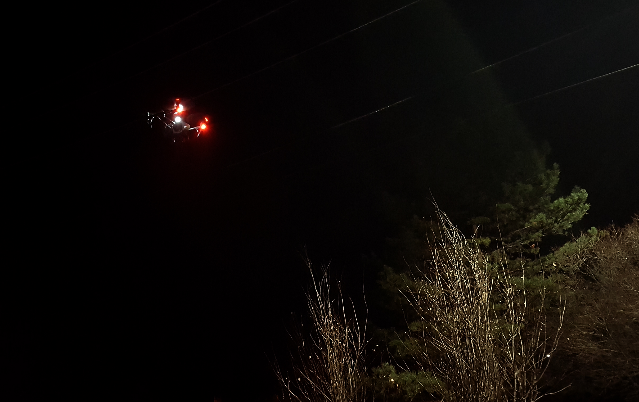 Photo-1 N.D. Drone Company OK'd for Night Flying; Utility Signs Up Right Away