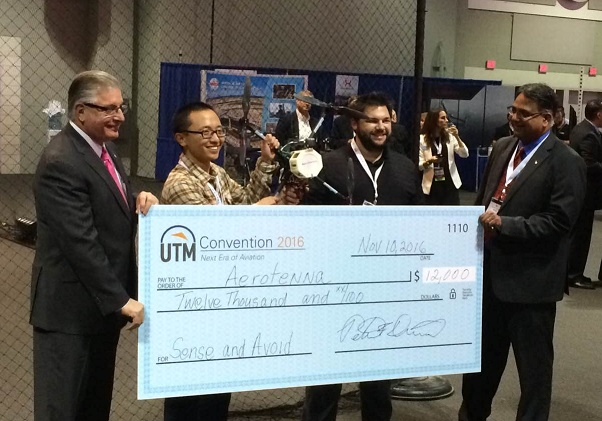 Aerotenna Grabs Top Spot in UTM Drone Sense-and-Avoid Competition