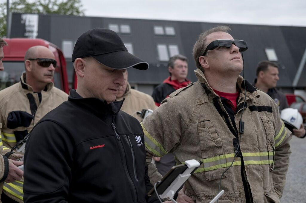 DJI and EENA: How to Improve Emergency Response with UAS