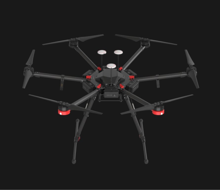 unspecified DJI's Newest Hexacopter Offers Higher Stability, More Loading Capacity