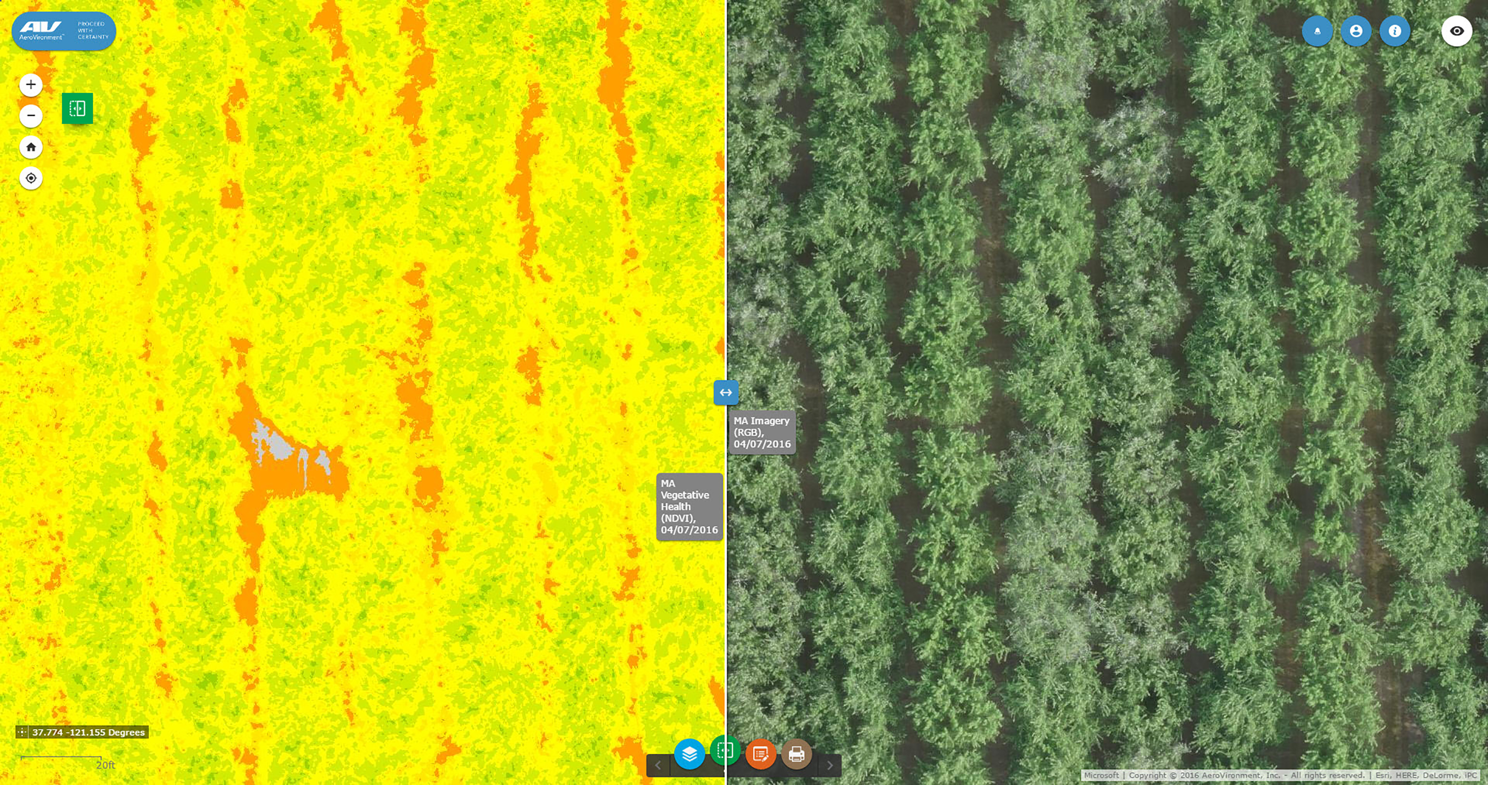 Almond_Swipe_1 Drones Could Help Manage Big Agricultural Commodity in California