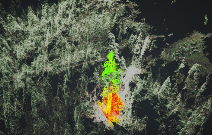pix4d-study Drones, Multispectral Imagery Offer New View of Calif.'s Giant Sequoias