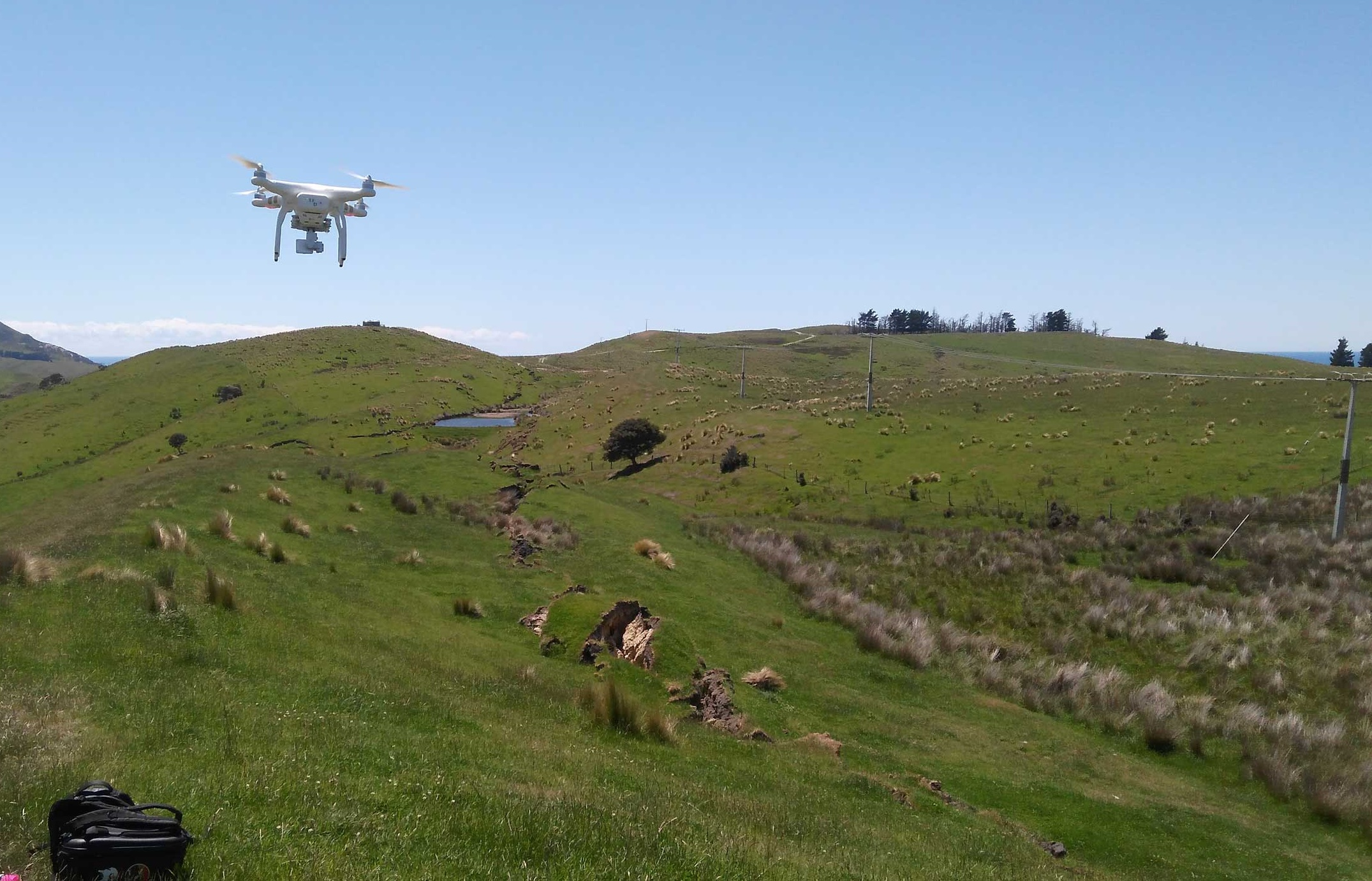 u-m-researchers-map-new-zealand-landslides-with-satellites-drones-helicopters-hiking-boots-drone-orig-20161213 Drones, Helicopters and Satellites Map out Earthquake-Stricken Areas