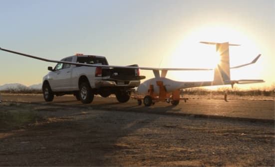 TruckFlare Vanilla Aircraft Boasts 56-Hour Flight Time for VA001 UAS