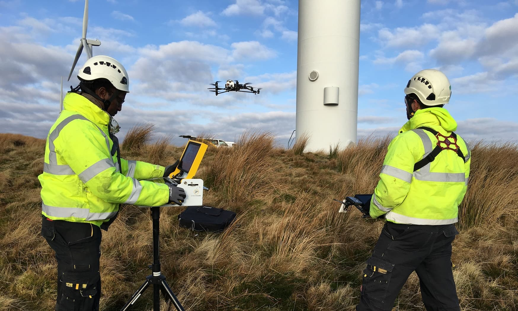 Cyberhawk-Innovations- Cyberhawk Touts Success for Drones in Wind Power