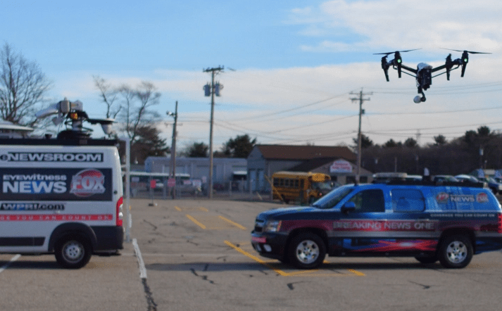 skydrone-12 New England News Station Introduces its 'Sky Drone 12'
