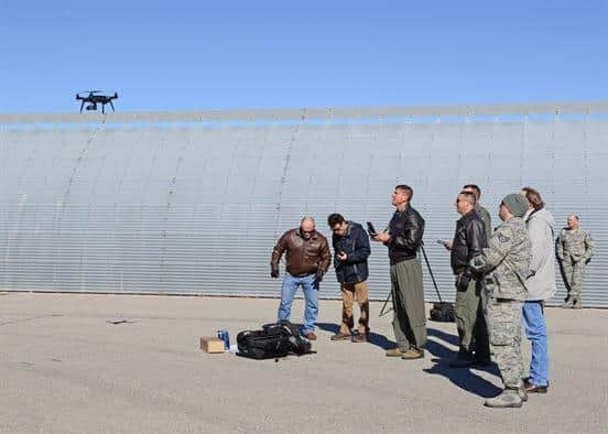 air force 3dr drone inspection
