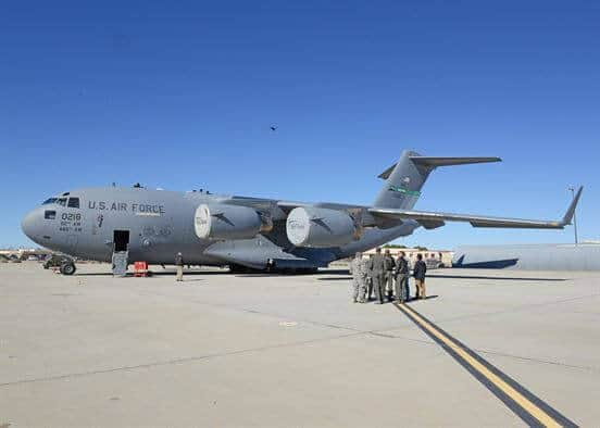 170306-F-LO365-848 U.S. Air Force Deploys Quadcopter for C-17 Inspection