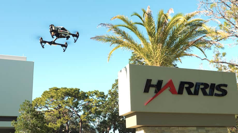 dronerelease Harris Works to Build Infrastructure Network for BVLOS Drones