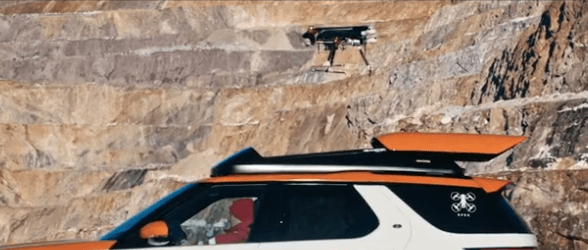 flhbfdhl Jaguar Land Rover Teams with Red Cross for Drone-Equipped SUV