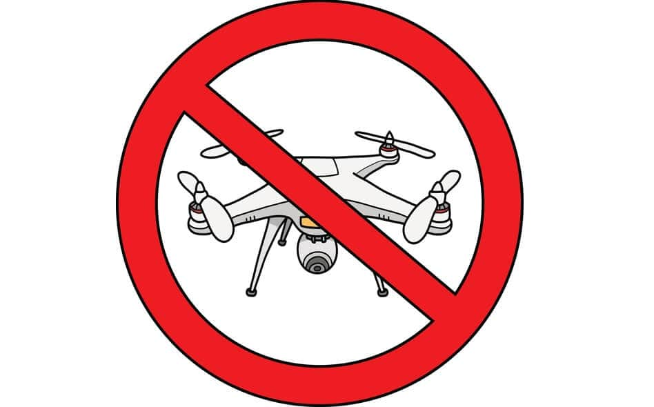 no-drone-flying-zone Arizona National Forest Deals with UAS Disruption