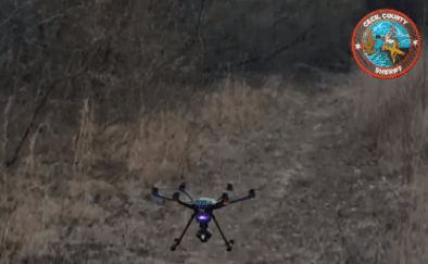 sheriffs-drone UAV Helps Sheriff's Office Recover Loads of Stolen Construction Goods