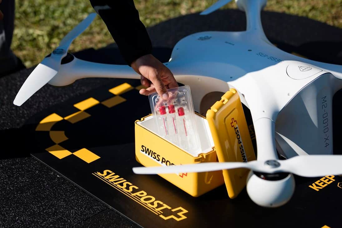 M2-Payload-Box Matternet Drone Deliveries to Become 'Everyday Occurrence' Between Hospitals