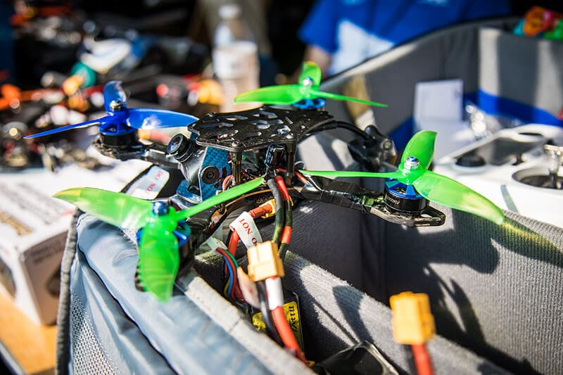collegiate-drone-race1LO Georgia Tech Takes Top Spot at Windy Collegiate Drone Racing Event