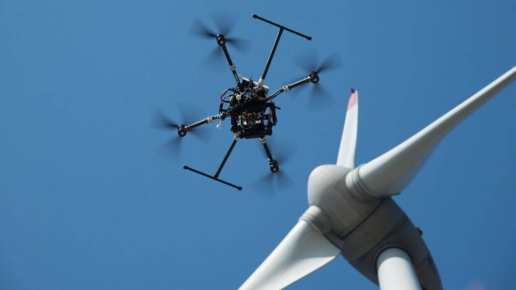 drone-wind-turbine How to Make it in the Industrial Drone Inspections Biz