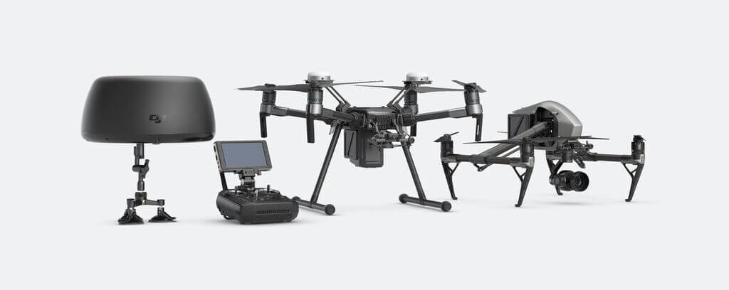 tracktenna DJI Rolls out a Smorgasbord of New Drone Products and Services