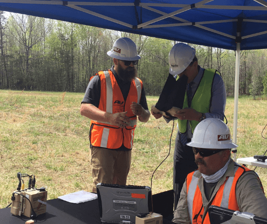 virginia-drone-crew With U.S. Sen. on Hand, Utility Tests out BVLOS Drones