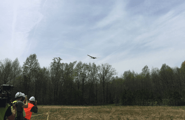 virginia-drone With U.S. Sen. on Hand, Utility Tests out BVLOS Drones