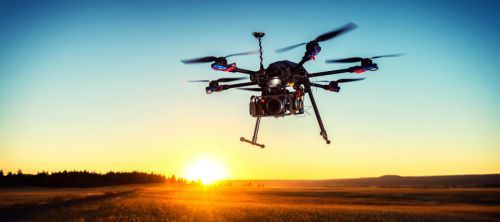 1134_drone_vertical_sunset Airbus, NEXA to Pursue Widespread UAS Commercialization