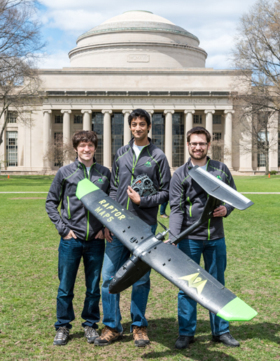 Drone Start-Up Wins Grand Prize in MIT Competition