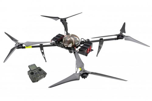 service-drone's New Multi-Rotor UAS Offers 90-Minute Flights