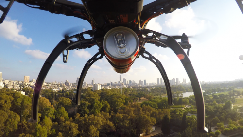 1287_flytrex-sky-delivery-coke 'Do Whatever You Want' with the Flytrex Sky Delivery Drone