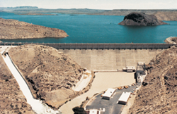 1298_drone_dam UAS to Inspect New Mexico's Elephant Butte Dam