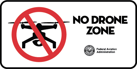1300_no_drone_zone_horizontal FAA Reinforces 'No Drone Zone' for Independence Day