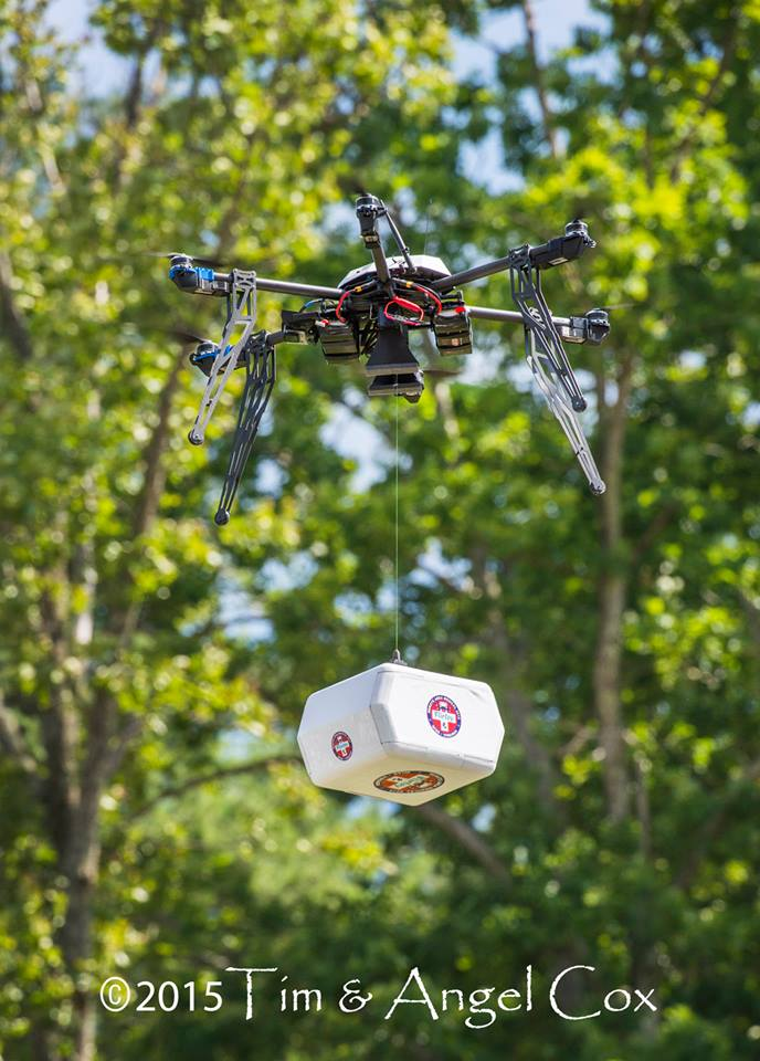 1352_first_delivery 'Let's Fly Wisely' Makes Delivery via UAS a Reality