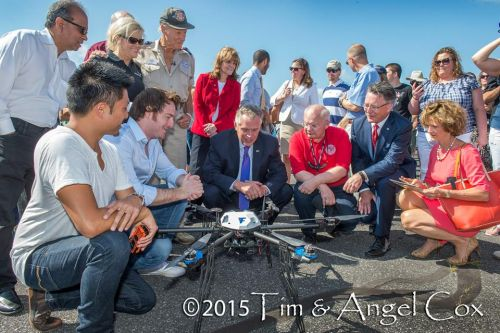 1352_group_shot 'Let's Fly Wisely' Makes Delivery via UAS a Reality