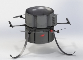 300_hummingbird_ii_5.8.2014 Reference Technologies Unveils Three VTOL Unmanned Aircraft Systems