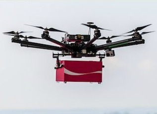 307_coke_drones_5.12.2014 Drones Deliver Soda to Construction Workers Throughout Singapore