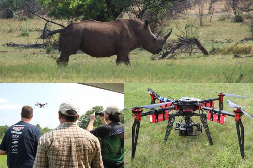 455_rhino_drone UAV-America Develops Aircraft to Protect Endangered Species