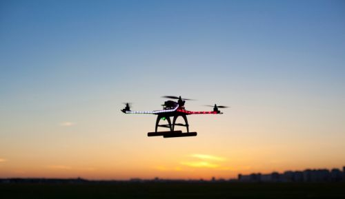 604_drone_sunset MITRE: The FAA Needs to Integrate UAS into NextGen