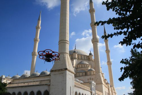 731_1412_adana_uav4 UAS Inspects, Creates 3D Model of the Largest Mosque in Turkey
