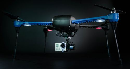 795_iris-1 3D Robotics CEO to Speak on Drones at Linux Summit