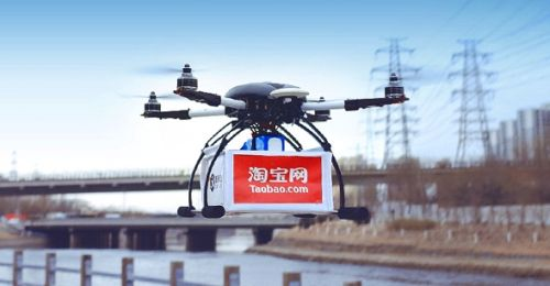 874_alizila Delivery-by-Drone Initiative Kicks off in China