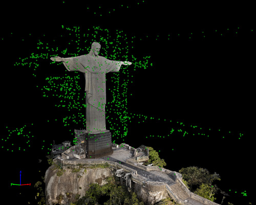 915_projeto-redentor-point-cloud-all-images-front Aeryon, Pix4D Turn Christ the Redeemer into 3D Model
