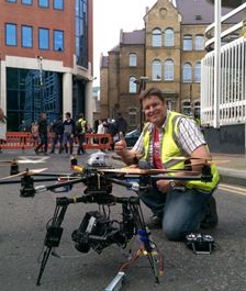 967_uaviate Drone Filming Taking Place in London for Hollywood Production