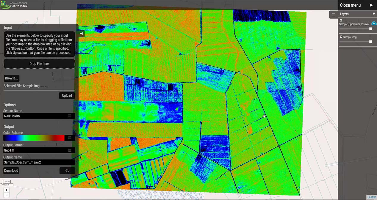 hexagon s new precision ag mapping apps focused on uav market