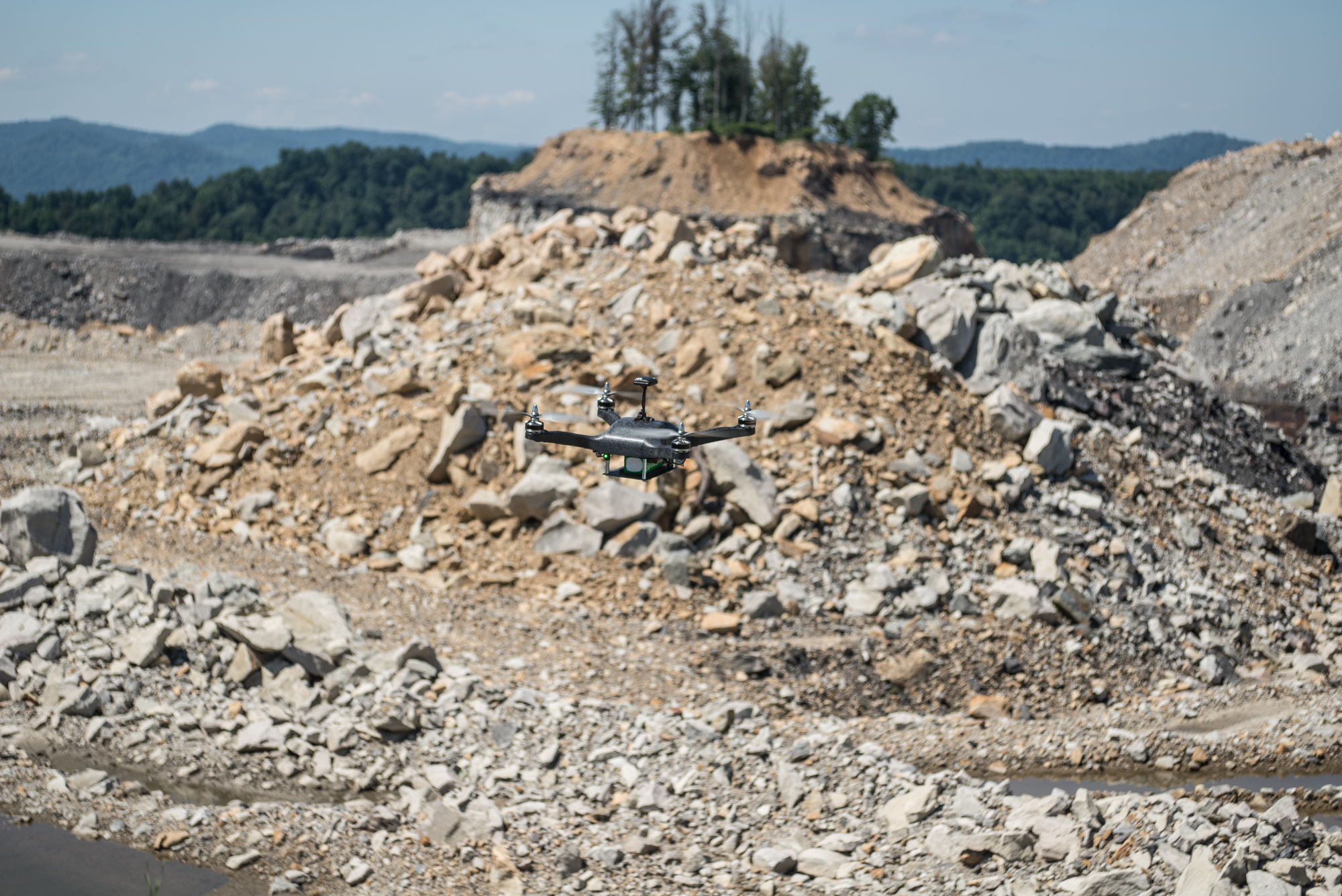 Drones Brought in for Surface Mining Project in Pennsylvania