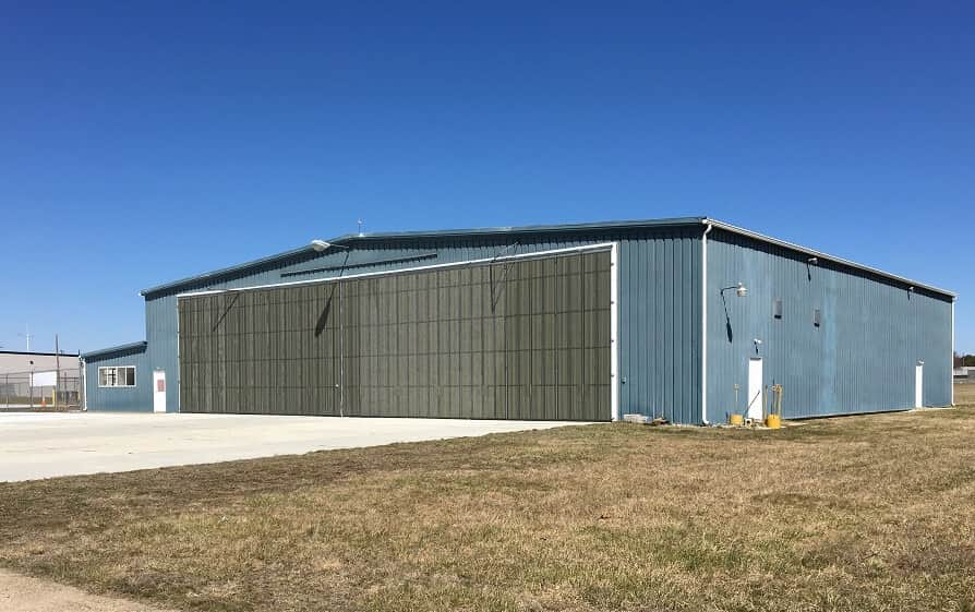 Hangar 112 at the Millville Airport