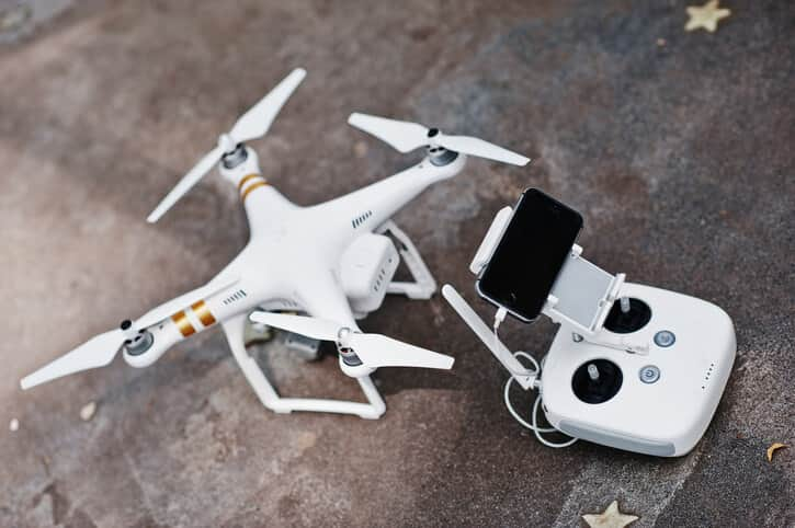dji phantom drone quadcopter