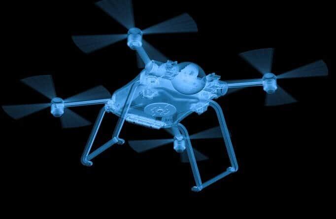 transparent drone