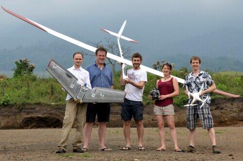 drones volcano