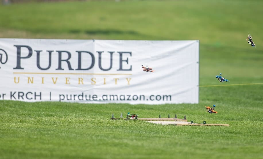collegiate drone race