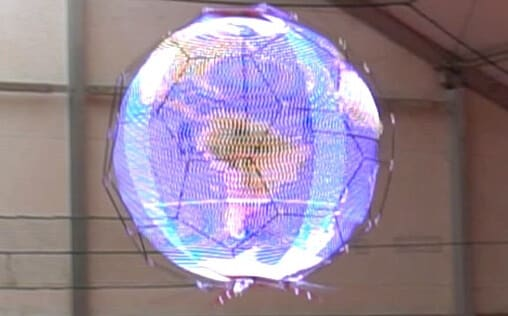 spherical drone display
