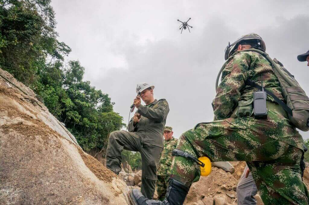 DSC01219 Drone Team Steps in After Colombia Landslide