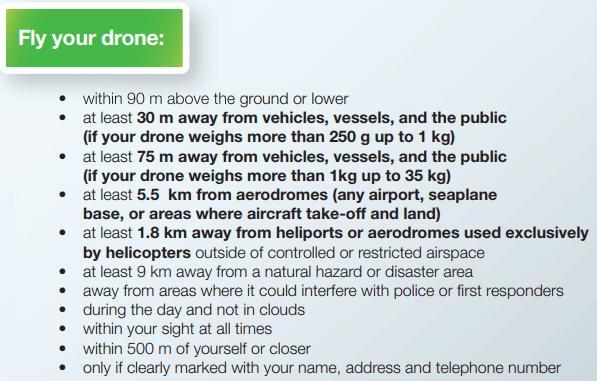transport-canada DJI Applauds Canada's Changes to 'Extremely Restrictive' Drone Rules